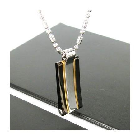 Sutra man 24k gold laid slick titanium steel pendant necklace sutra man 24k gold laid slick titanium steel pendant necklace aloadofball Choice Image