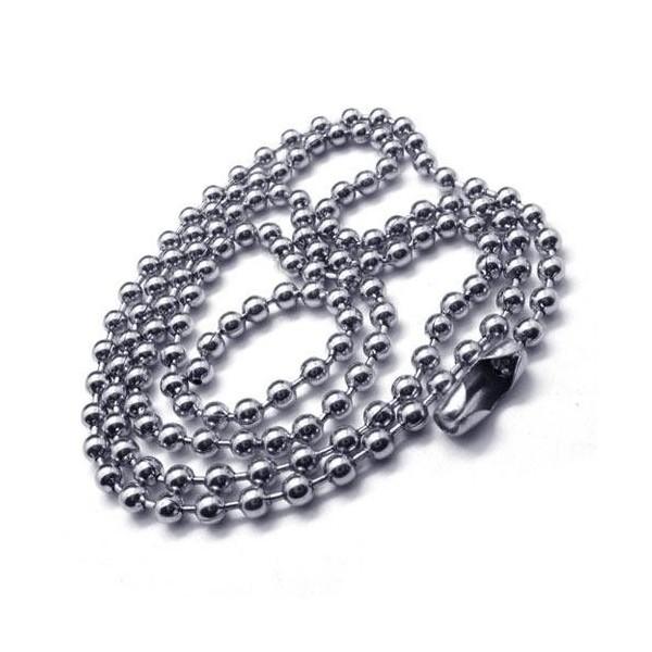Mens Silver Gold Pure Titanium Cross Pendant Necklace