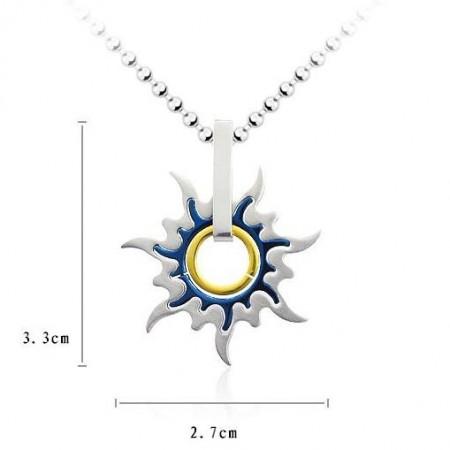 Fashion pure titanium mens pendants and necklace sun whell fashion pure titanium mens pendants and necklace sun whell aloadofball Gallery