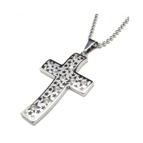 diamond cross necklaces for men wwwimgkidcom the