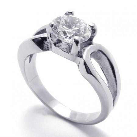 Women\'s Diamond Titanium Ring 20586