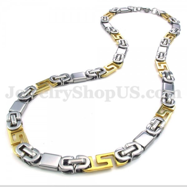 fashion mens titanium necklace chain titanium jewelry shop